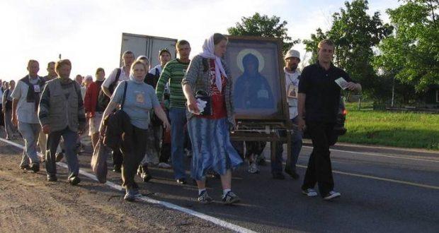 Крестный ход Витебск-Смоленск «Из Белой Руси в Великую»