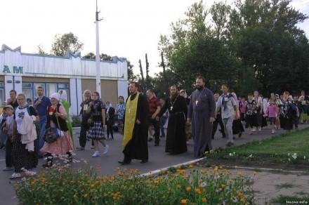Крестный ход Витебск-Смоленск «Из Белой Руси в Великую» - Лиозно