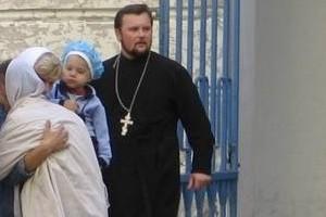 Вячеслав Пашкевич, настоятель храма Воздвижения Креста Господня в Лиозно
