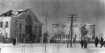 Храм Святого Вознесения Господня - С середины 30-х годов здесь размещался Дом культуры, клуб