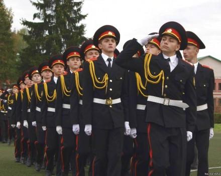 Наши в Витебском кадетском училище