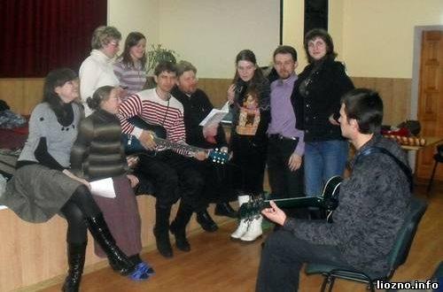 Молодёжное православное братство в Крынках