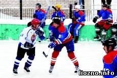 Разгорались хоккейные страсти
