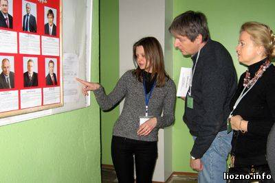 В Лиозненский район прибыли международные наблюдатели