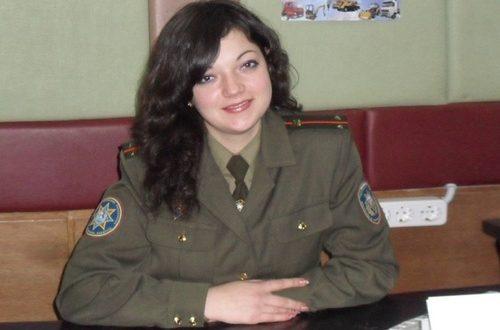 Среди пожарных есть и девушки – Софья Масько