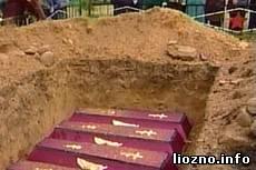 Перезахоронение воинов Великой Отечественной