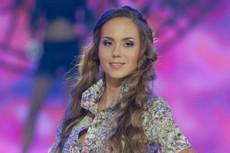 Мария Лукьянчик в финале «Мисс Беларусь 2012»