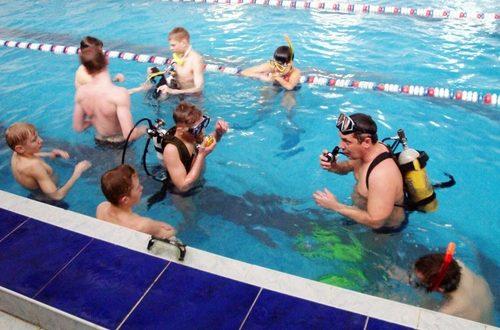 Ездили в Витебск учиться водолазной науке