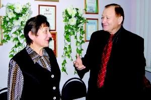 Н. Попелковская и А. Агеев