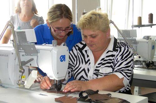 В Лиозно начнет работу цех по пошиву обуви