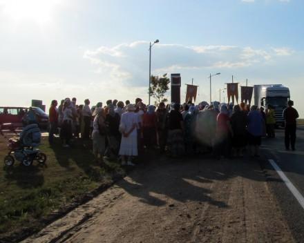 Крестный ход «Одигитрия» 2012 в Лиозно