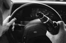 Столб перебежал дорогу пьяному водителю