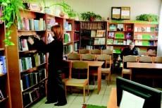 Вход в лиозненскую библиотеку… со двора