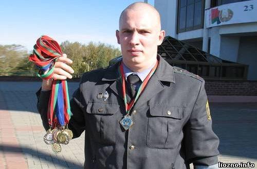 Участковый из Лиозно чемпион мира по гиревому спорту