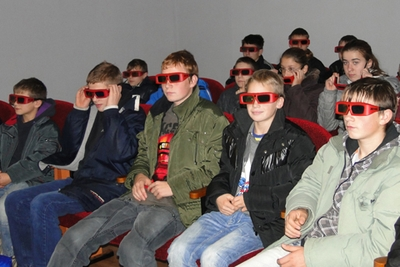 3D в лиозненском кинотеатре «Свитанок»