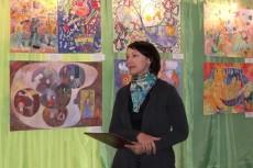 Выставка детского творчества, посвященная Шагалу