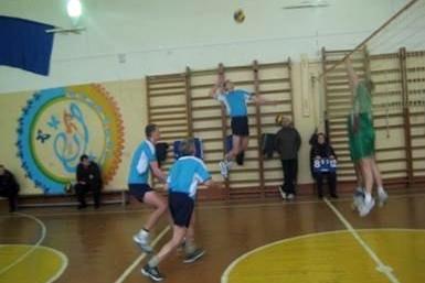 Наши волейболисты призёры областного турнира