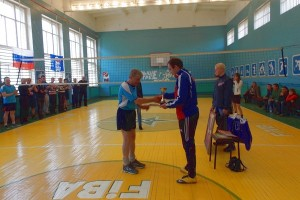 Команда Лиозно по волейболу победила россиян
