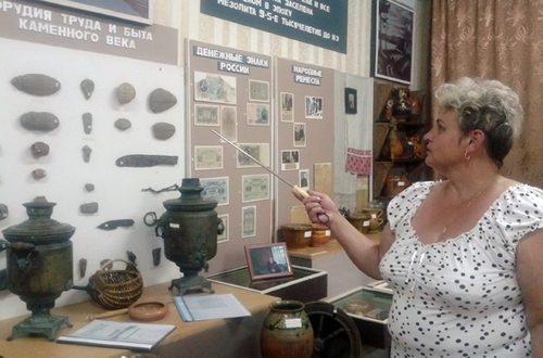 Экспозиция музея боевой славы аг. Бабиновичи