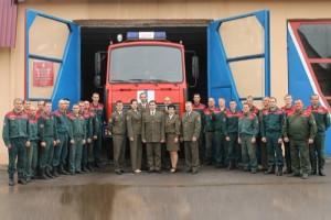 160-летие пожарной службы Беларуси