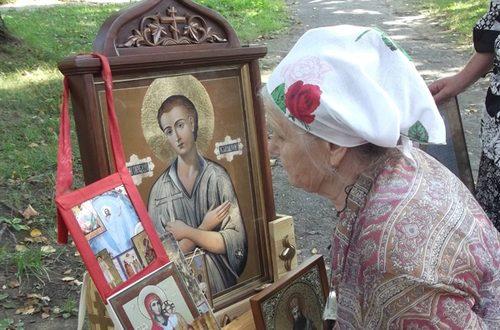 """Крестный ход """"Одигитрия"""" - Лиозно 2013"""