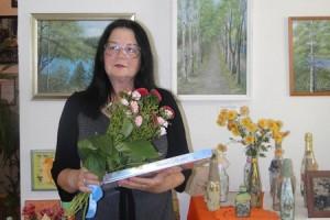 Выставка местной художницы Тамары Седневой