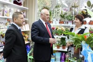 В Лиозно открылся магазин «Цветы»