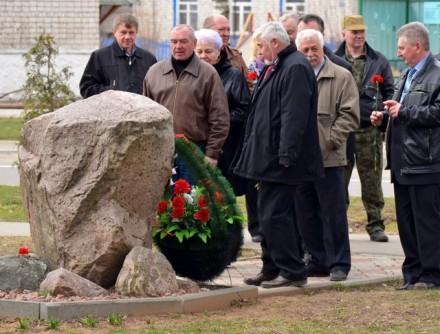 В ходе «международного субботника» и последующих посещений памятных мест в Лиозно