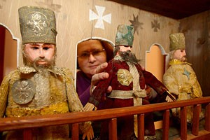 Батлеечные театры из районов в Витебске