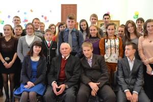 Творческая встреча писателя Геннадия Пациенко