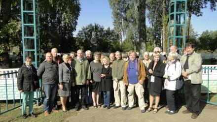 Туристы из Германии в рамках историко-мемориальной поездки побывали в Лиозненском районе