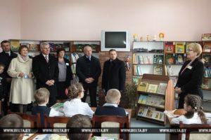 Культурно-оздоровительный центр открыли в Лиозно