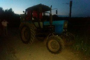 В Лиозненском районе тракторист насмерть задавил мальчика, сам не зная того