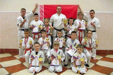 Серебро турнира «Кубок Дружбы» по киокушин каратэ
