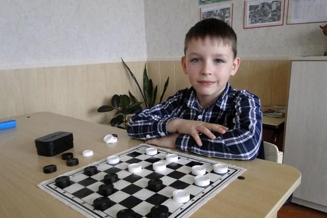 Сергей Никонов на личном первенство Беларуси по шашкам