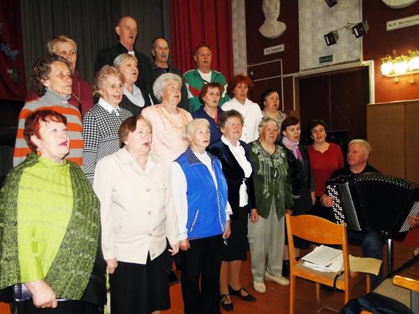Лиозненский клуб «Ветеран» отметил своё 30-летие