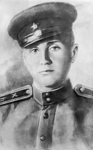 Николай Лашков, дядя Марины Фроловой, похороненный на «Адаменской горке»