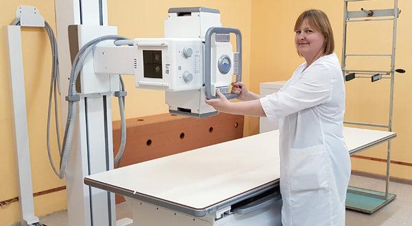 В Лиозненской поликлинике открыт новый рентгенкабинет
