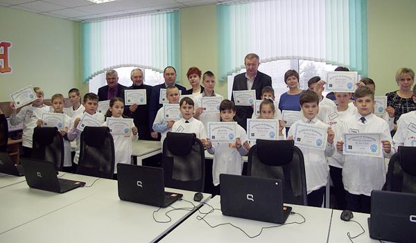 Подарок Лиозненской школе от Парка высоких технологий