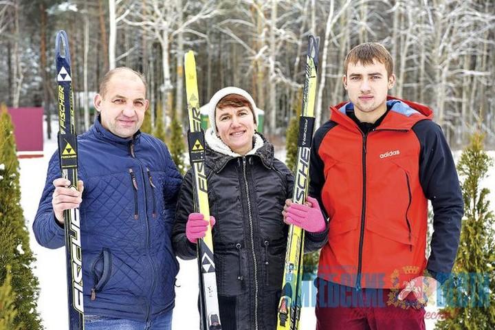 Семья Соловьевых и «Лиозненская лыжня»