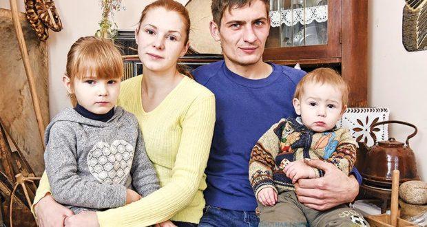 Молодая семья в Лиозненском районе возрождает традиции