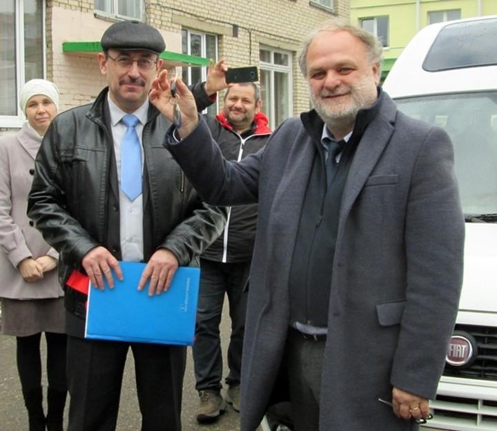 Микроавтобус для Лиозненского Центра коррекционно-развивающего обучения и реабилитации «Радуга»