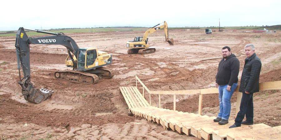 На Лиозненщине возобновили строительство комплекса