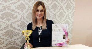 Татьяна Шеречкова – первое место в номинации «Салонный маникюр»