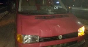В Лиозно микроавтобус сбил женщину
