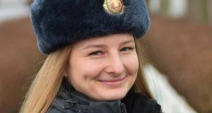 Лейтенант милиции из Лиозно Алена Лабовкина