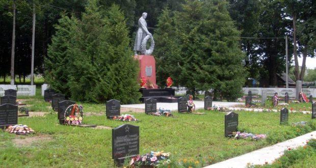 Захоронения и памятники и мемориалы погибших на территории Лиозненского района