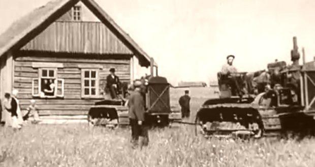 С хуторов - в колхозные центры