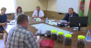 9 июня в Лиозно с жителями общался помощник Президента