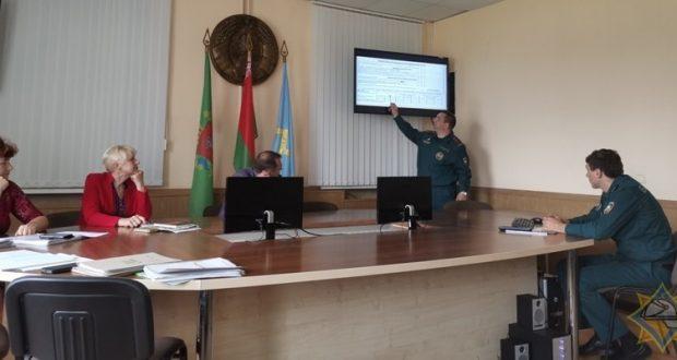 Заседание рабочей комиссии в Лиозно